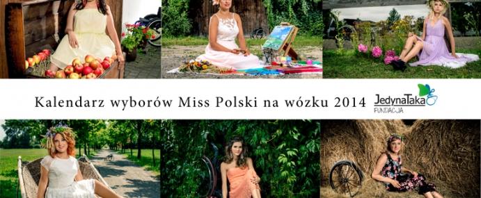 Kalendarz Miss Polski na wózku 2014