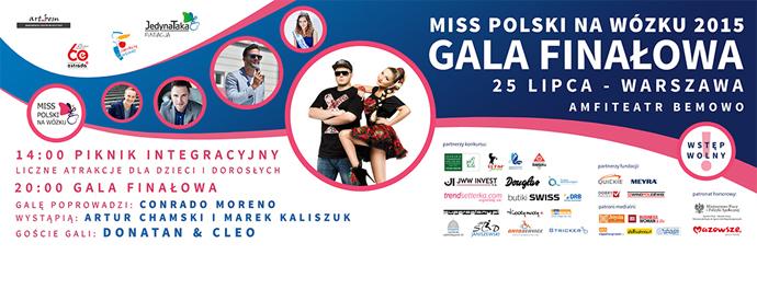Zapraszamy na Galę Finałową Miss Polski na Wózku