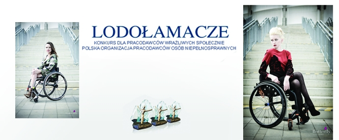 Pokaz mody w trakcie gali Lodołamacze