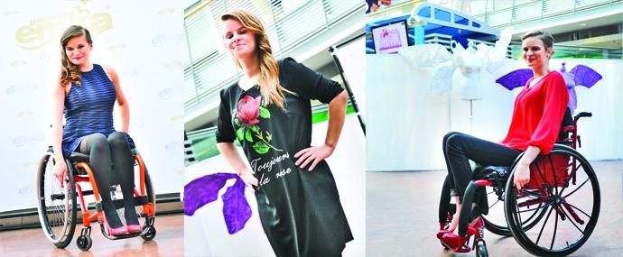 Pokaz mody w galerii Emka